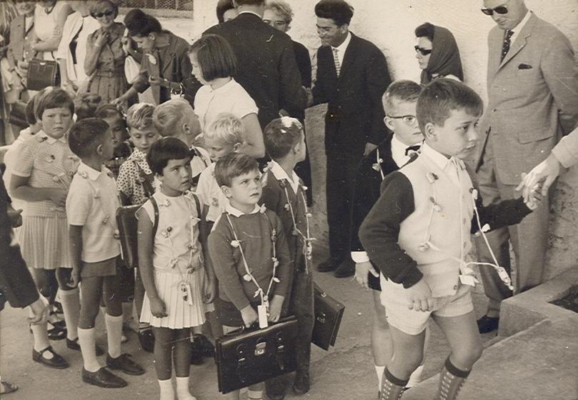 1970D dumkow einschulung1964a